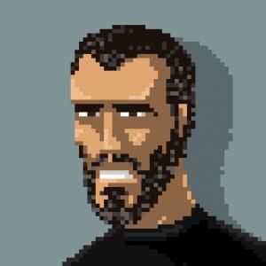 AKhan74 - Pixel Art portrait